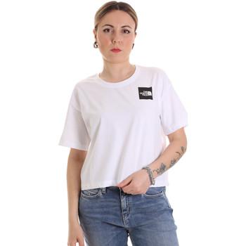 Odjeća Žene  Majice kratkih rukava The North Face NF0A4SY9FN41 Bijela