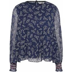 Odjeća Žene  Topovi i bluze Tommy Jeans DW0DW07936 Plava