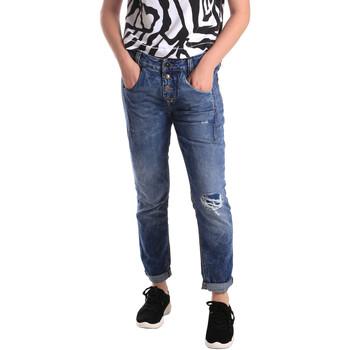Odjeća Žene  Slim traperice Fornarina BER1I27D785IM Plava