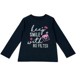 Odjeća Djeca Majice dugih rukava Chicco 09006871000000 Plava
