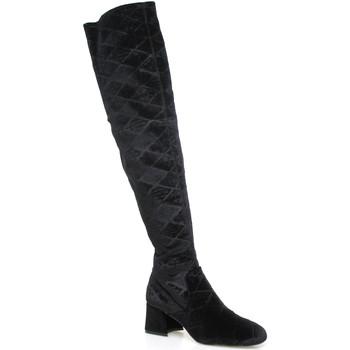Obuća Žene  Čizme iznad koljena Apepazza SHR06 Crno