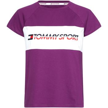 Odjeća Žene  Majice kratkih rukava Tommy Hilfiger S10S100331 Ljubičasta