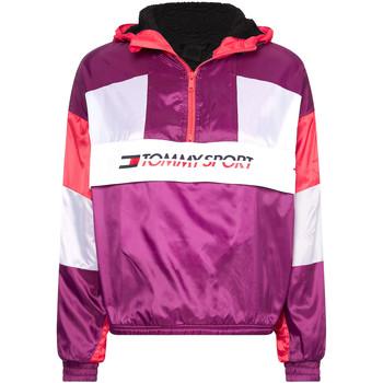 Odjeća Žene  Gornji dijelovi trenirke Tommy Hilfiger S10S100416 Ljubičasta