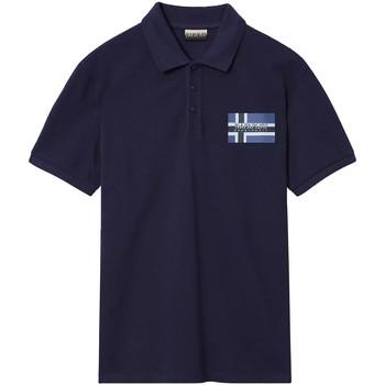 Odjeća Muškarci  Polo majice kratkih rukava Napapijri NP0A4E2K Plava