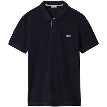Odjeća Muškarci  Polo majice kratkih rukava Napapijri NP0A4EGD Plava