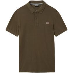 Odjeća Muškarci  Polo majice kratkih rukava Napapijri NP0A4EGD Zelena