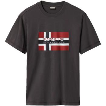 Odjeća Muškarci  Majice kratkih rukava Napapijri NP0A4E38 Siva