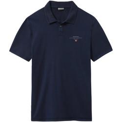 Odjeća Muškarci  Polo majice kratkih rukava Napapijri NP0A4E2L Plava