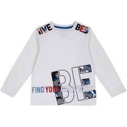 Odjeća Djeca Majice dugih rukava Chicco 09006867000000 Bijela