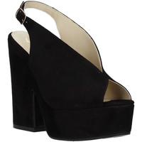 Obuća Žene  Sandale i polusandale Grace Shoes ALBA 107 Crno