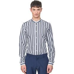 Odjeća Muškarci  Košulje dugih rukava Antony Morato MMSL00604 FA420096 Plava