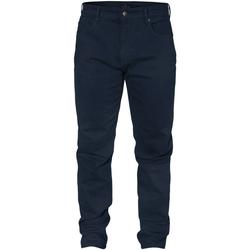 Odjeća Muškarci  Chino hlačei hlače mrkva kroja Navigare NV53074 Plava