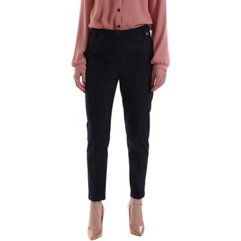 Odjeća Žene  Chino hlačei hlače mrkva kroja Gaudi 921BD25023 Plava