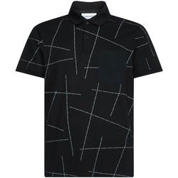 Odjeća Muškarci  Polo majice kratkih rukava Calvin Klein Jeans K10K105189 Crno