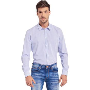 Odjeća Muškarci  Košulje dugih rukava Gaudi 011BU45032 Plava
