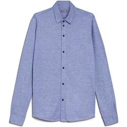 Odjeća Muškarci  Košulje dugih rukava NeroGiardini E072300U Plava
