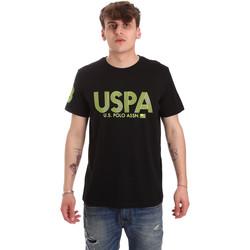 Odjeća Muškarci  Majice kratkih rukava U.S Polo Assn. 57197 49351 Crno