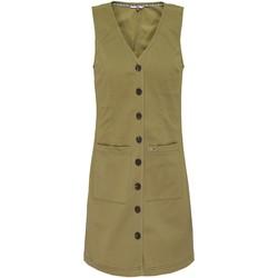 Odjeća Žene  Kratke haljine Tommy Jeans DW0DW07750 Zelena