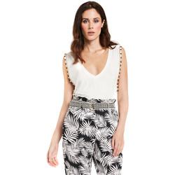 Odjeća Žene  Topovi i bluze Gaudi 011FD64008 Bijela