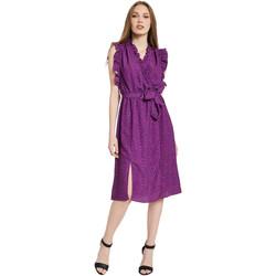 Odjeća Žene  Duge haljine Gaudi 011BD15004 Ljubičasta