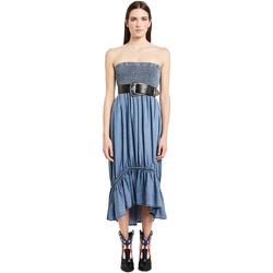 Odjeća Žene  Duge haljine Denny Rose 011ND16002 Plava
