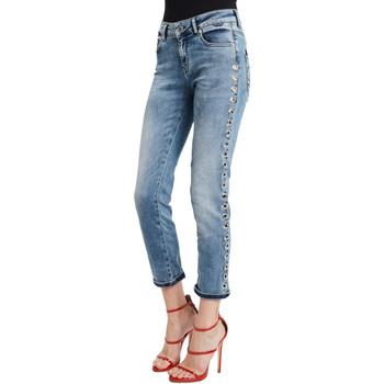Odjeća Žene  Slim traperice Denny Rose 011ND26009 Plava