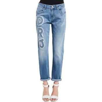 Odjeća Žene  Traperice Denny Rose 011ND26013 Plava