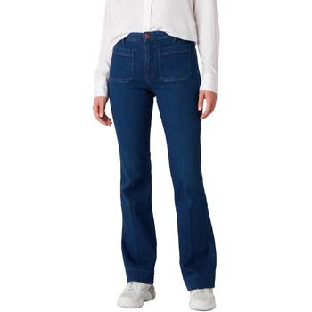 Odjeća Žene  Traperice Wrangler W233JN69F Plava