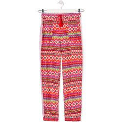 Odjeća Djeca Lagane hlače / Šalvare Losan 014-9014AL Crvena
