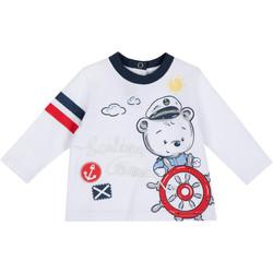 Odjeća Djeca Majice dugih rukava Chicco 09006877000000 Bijela