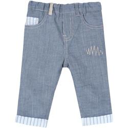 Odjeća Djeca Hlače s pet džepova Chicco 09008117000000 Plava