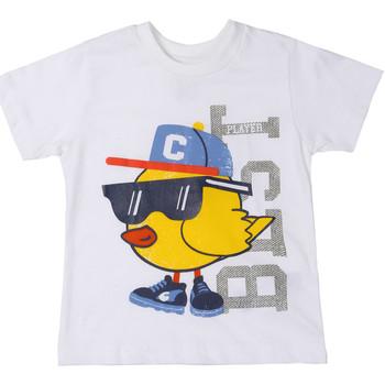 Odjeća Djeca Majice kratkih rukava Chicco 09006918000000 Bijela