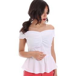 Odjeća Žene  Topovi i bluze Gaudi 011FD45054 Bijela
