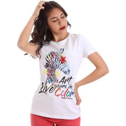 Odjeća Žene  Majice kratkih rukava Gaudi 011BD64003 Bijela