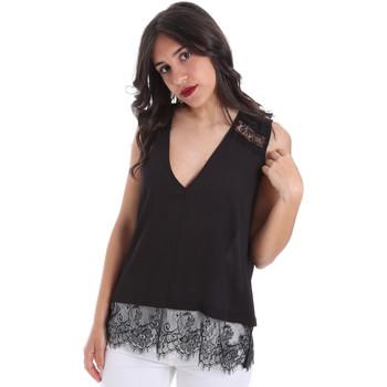 Odjeća Žene  Topovi i bluze Gaudi 011FD45055 Crno