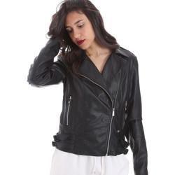 Odjeća Žene  Kožne i sintetičke jakne Gaudi 011BD38006 Crno