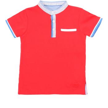 Odjeća Djeca Polo majice kratkih rukava Losan 015-1791AL Crvena