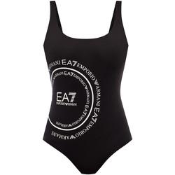 Odjeća Žene  Jednodijelni kupaći kostimi Ea7 Emporio Armani 911128 0P427 Crno