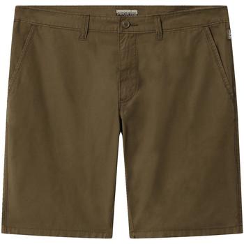 Odjeća Muškarci  Bermude i kratke hlače Napapijri NP0A4E1L Zelena