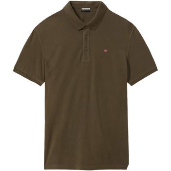 Odjeća Muškarci  Polo majice kratkih rukava Napapijri NP0A4E2M Zelena