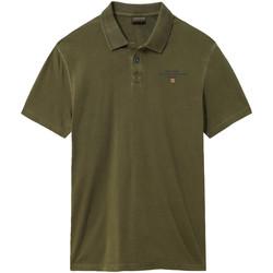 Odjeća Muškarci  Polo majice kratkih rukava Napapijri NP0A4E2L Zelena