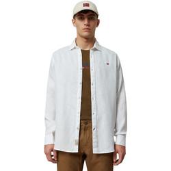 Odjeća Muškarci  Košulje dugih rukava Napapijri NP000IL7 Bijela