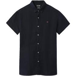 Odjeća Muškarci  Košulje kratkih rukava Napapijri NP000IF1 Plava
