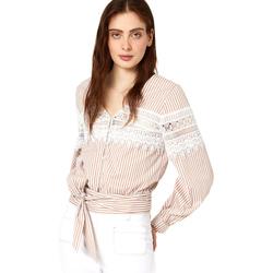 Odjeća Žene  Topovi i bluze Liu Jo FA0183 T4169 Bež