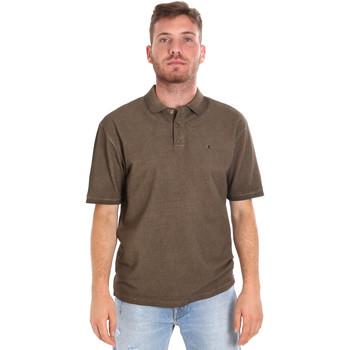 Odjeća Muškarci  Polo majice kratkih rukava Les Copains 9U9016 Smeđa