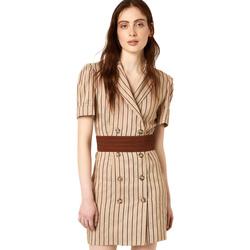 Odjeća Žene  Kratke haljine Liu Jo FA0213 T4197 Bež
