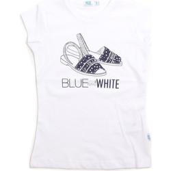 Odjeća Djeca Majice s naramenicama i majice bez rukava Melby 70E5645 Bijela