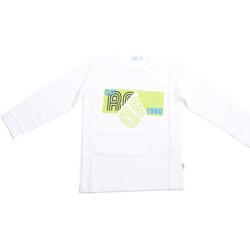 Odjeća Djeca Majice dugih rukava Melby 70C5524 Bijela