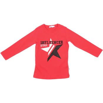 Odjeća Djeca Majice dugih rukava Melby 70C5615 Crvena