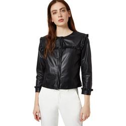 Odjeća Žene  Kožne i sintetičke jakne Liu Jo WA0153 E0392 Crno